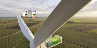 La energía eólica superó a la nuclear a nivel mundial