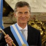 El Presidente de Argentina Mauricio Macri