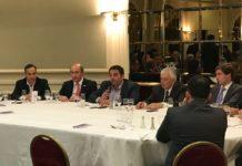 Exclusivo: El Ministro Jorge Triaca y el trabajo en el sector petrolero, en el Club del Petróleo