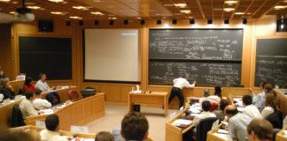 Aula de la IAE Business SchoolAula de la IAE Business School