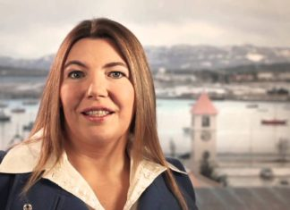 Rosana Bertone, Gobernadora de Tierra del Fuego