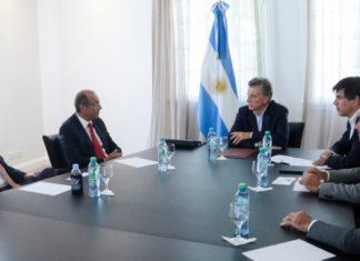 Mauricio Mauricio Macri se reunio con un grupo petrolero norteamericanose reuno con un grupo petrolero norteamericano