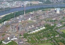 Shell evaluá la expansión de la refinería Rheinland en Wesseling, Alemania