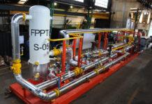 Paquetizados para la planta de procesamiento de gas